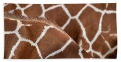 Duo Giraffe Pattern Hand Towel