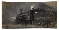 Durango And Silverton Train 2 Hand Towel
