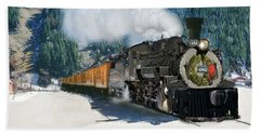 Durango To Silverton Train Hand Towel