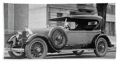 Dusenberg Car Circa 1923 Hand Towel