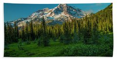 Dusk At Indian Henry Campground Hand Towel