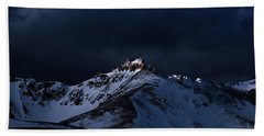 Dusk At Loveland Pass Hand Towel