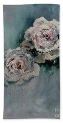 Dusky Roses Bath Towel