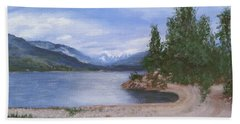 Dutch Harbour, Kootenay Lake Hand Towel