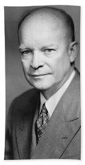 Dwight Eisenhower Bath Towel