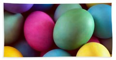 Dyed Easter Egg Abstract Hand Towel