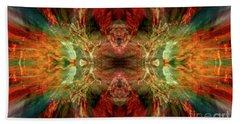 Dynamism Hand Towel by Tlynn Brentnall