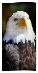 Eagle 14 Bath Towel by Marty Koch
