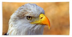 Hand Towel featuring the photograph Eagle 7 by Marty Koch