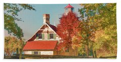 Eagle Bluff Lighthouse_1 Hand Towel