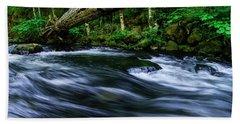 Eagle Creek Rapids Bath Towel