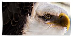 Eagle Eye Bath Towel by Sherman Perry