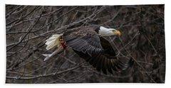 Eagle Fisher Hand Towel
