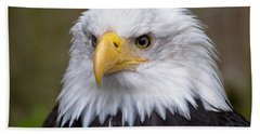 Eagle In Ketchikan Alaska Bath Towel