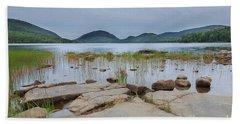 Eagle Lake Acadia National Park Hand Towel