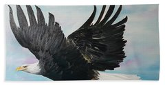 Eagle On A Mission      11 Hand Towel