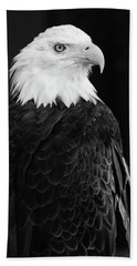 Hand Towel featuring the photograph Eagle Portrait Special  by Coby Cooper