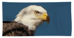 Bath Towel featuring the photograph Eagle by Rod Wiens