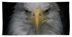 Eagle Stare Bath Towel