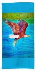 Eagle's Lunch Bath Towel