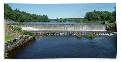 Eagleville Dam, Connecticut  Bath Towel