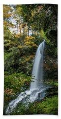 Early Autumn At Dry Falls Bath Towel