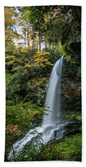 Early Autumn At Dry Falls Bath Towel