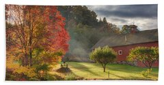 Early Autumn Morning Hand Towel by Bill Wakeley