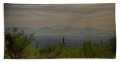 Hand Towel featuring the photograph Early Morning by Anne Rodkin