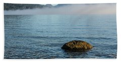 Hand Towel featuring the photograph Early Morning At Lake St Clair by Werner Padarin