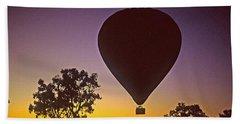 Early Morning Balloon Ride Hand Towel