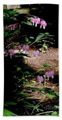 Early Morning Bleeding Hearts - Botanical Bath Towel