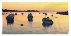 Early Morning In Chatham Harbor Hand Towel by Roupen  Baker