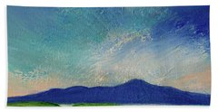 Early Morning Light At Clew Bay, Ireland  Hand Towel