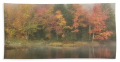 Moose River Reflections Bath Towel