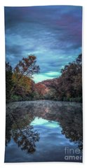 Early Morning Reflection Hand Towel