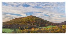 Early Morning Trestle Skies Hand Towel