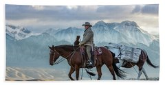 Early October Hunt Wild West Photography Art By Kaylyn Franks Hand Towel