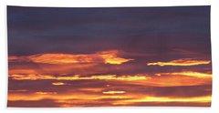 Early Prairie Sunrise Hand Towel