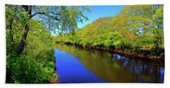 Early Spring On The Annapolis River Bath Towel
