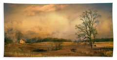 Early Spring Storm Bath Towel by John Rivera