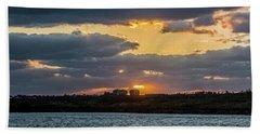 Early Sun Bath Towel by Nance Larson