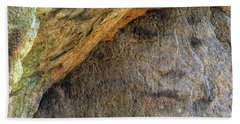 Bath Towel featuring the photograph Earth Memories-stone # 4 by Ed Hall