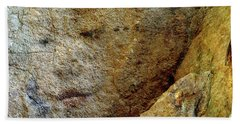 Bath Towel featuring the photograph Earth Memories - Stone # 5 by Ed Hall
