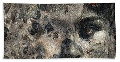 Bath Towel featuring the photograph Earth Memories - Stone # 7 by Ed Hall