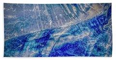 Earth Portrait 001-102 Hand Towel