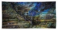 Earth Portrait 01-18 Hand Towel