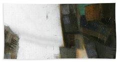 Earth Pattern Hand Towel by Behzad Sohrabi
