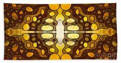 Earthly Awareness Abstract Organic Artwork By Omaste Witkowski Bath Towel