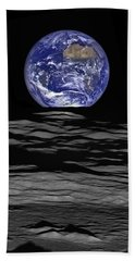 Earthrise Bath Towel